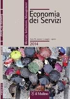 Copertina economia dei servizi